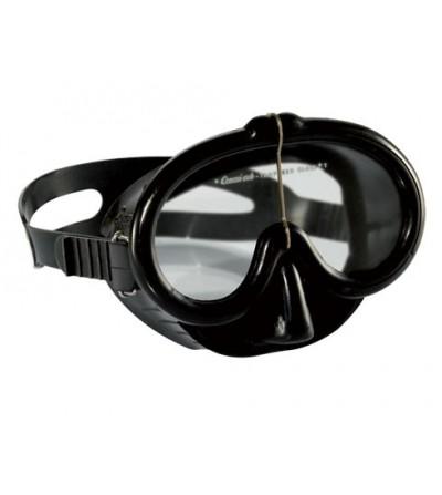 Masque historique Cressi Pinocchio à volume réduit pour la plongée, snorkeling, apnée et chasse sous-marine. Look vintage