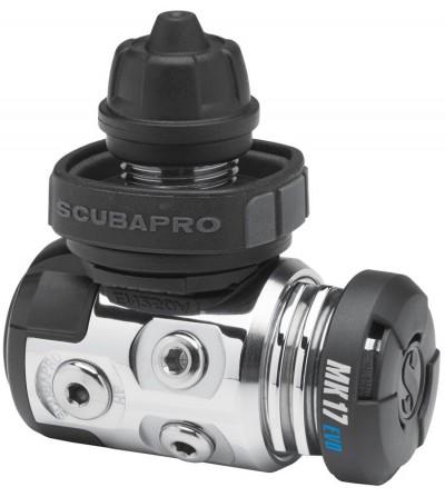 Détendeur compensé de plongée Scubapro MK17 EVO/G260 DIN pour la plongée en eau froide, TEK & spéléo