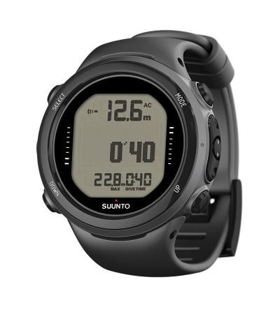 Montre Ordinateur de plongée Suunto D4i Novo avec mode apnée, gestion d'air & interface USB - Noir