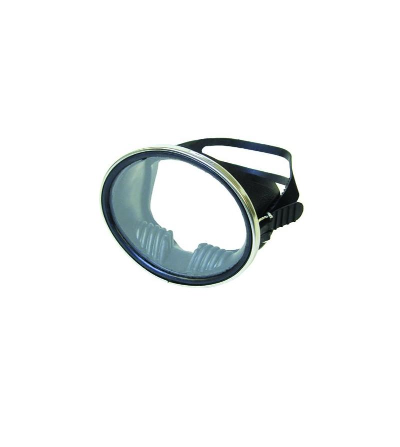 Masque monoverre avec cerclage Beuchat Super Compensator avec jupe en caoutchouc - Plongée, chasse & Snorkeling