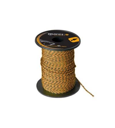 Bobine de 100m de drisse Diamond diamètre 1.5mm (180kg) Mares Pure Instinct pour moulinet et arbalètes de chasse sous-marine