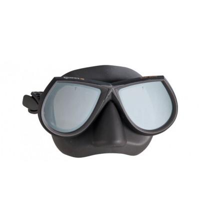 Masque d'apnée et chasse sous-marine à petit volume Mares Pure Instinct Star Elite noir avec verres miroir