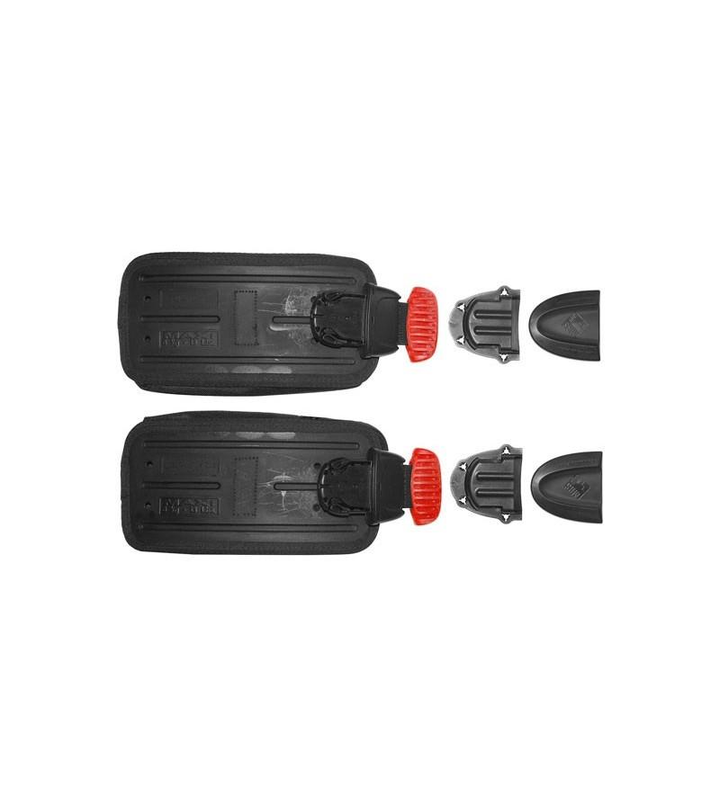 Kit de fixation & 2 poches à lest largable capacité 6kg Mares MRS Plus pour gilets stabilisateurs compatibles