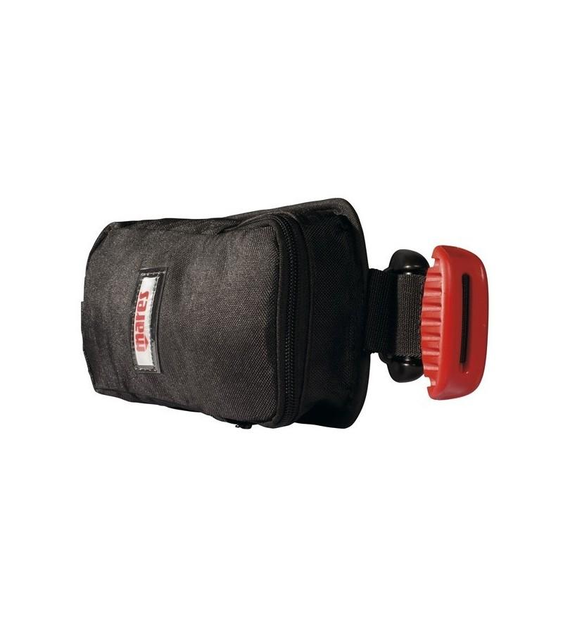 Paire de poches à lest largable Mares MRS Plus pour gilet stabilisateur - Disponible en version : Petit (4kg) ou grand (6kg)