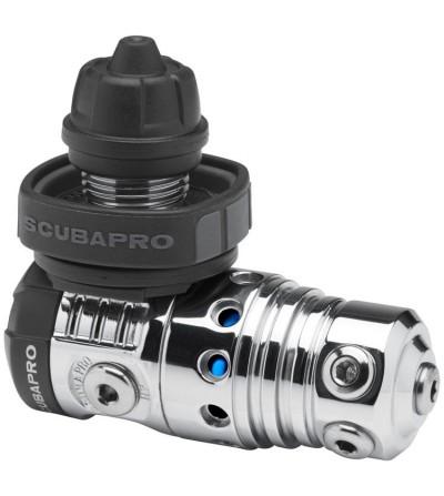 Premier étage détendeur de plongée compensé à piston équilibré Scubapro MK25 EVO DIN 30% plus efficace en eau froide