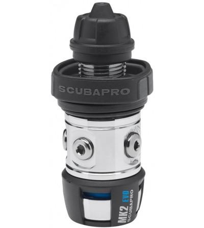 Premier étage détendeur de plongée non compensé à piston aval traditionnel Scubapro MK2 EVO DIN compatible eau froide
