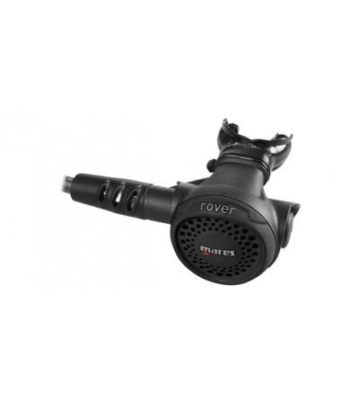 Détendeur compensé de plongée Mares Rover 15X DIN 300 bar, léger et compact avec clapet ACT et flexible caoutchouc