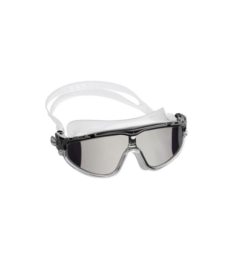 Lunettes masque de nage mono-verre miroir Cressi Skylight avec large champ de vision & excellente étanchéité