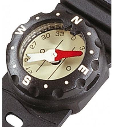 Boussole Compas Scubapro C1 pour montage rapide sur console ou bracelet, ultra réactif aux changements d'orientation