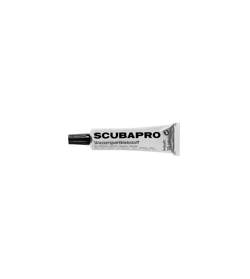 Tube de 35g de colle néoprène Scubapro pour petites réparations de vos combinaisons