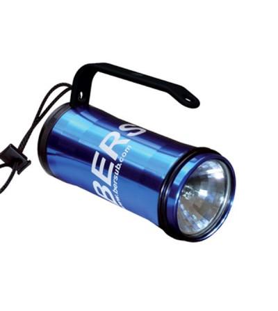 Phare de plongée halogène Bersub Vario 60 à accus rechargeables avec très bon rendu des couleurs