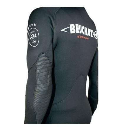 Veste Haut de combinaison Beuchat Espadon Equipe en néoprène refendu 3mm pour la chasse sous-marine et l'apnée