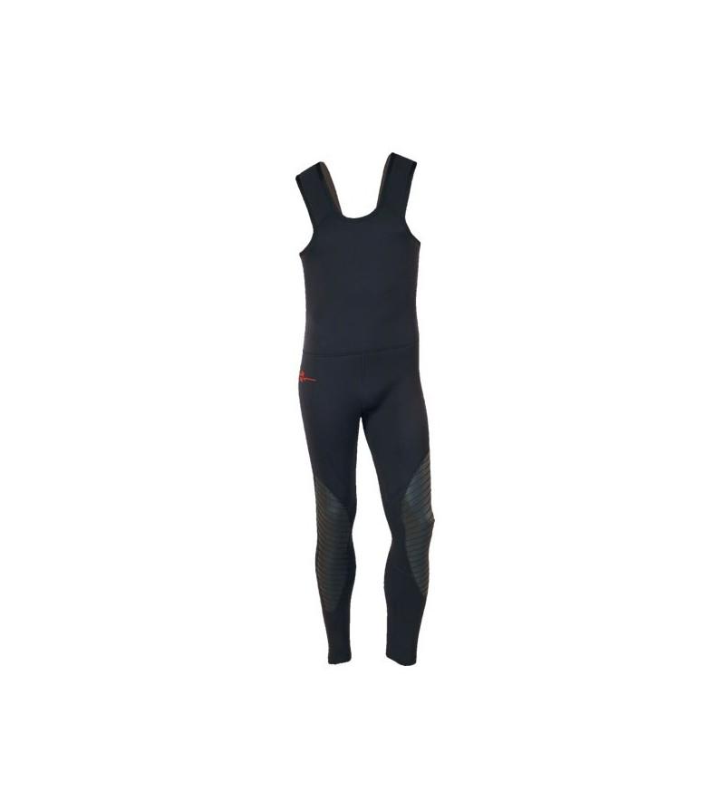 Bas de combinaison Beuchat Pantalon Pro Espadon Equipe taille haute en néoprène refendu 7mm pour la chasse sous-marine & l'apnée