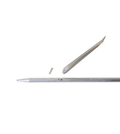 Ardillons longs (75mm) Beuchat de rechange pour flèche diamètre 6.5mm d'arbalète & fusil harpon de chasse sous-marine