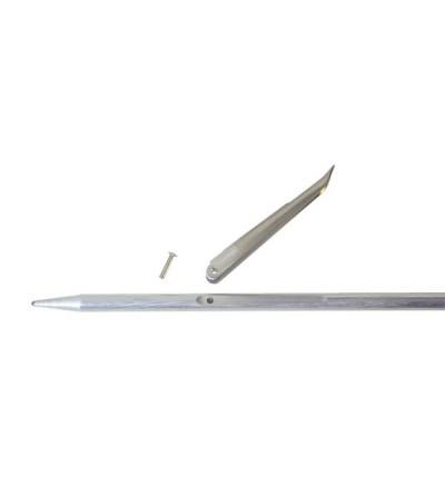 Ardillons (55mm) Beuchat de rechange pour flèche diamètre 6.5mm d'arbalète & fusil harpon de chasse sous-marine