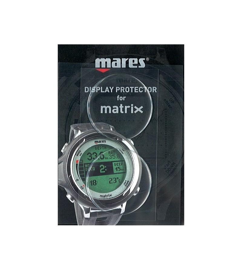 Accessoire indispensable - Protection d'ecran souple et durable pour ordinateur de plongée Mares Matrix & Smart