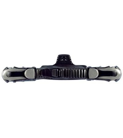 Paire de boucles Mares ABS Plus avec sangle pour palmes réglables. Facile à ouvrir & fermer même avec des gants épais