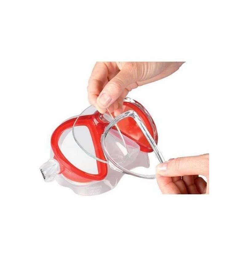 Lentille de correction optique pour verres des masques Mares X-Vu pour la chasse sous-marine, la plongée & le snorkeling (unité)