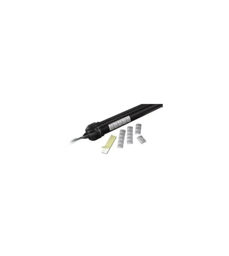 Ce pack sécable de 5 plombs de 5gr autocollants Omer permet un équilibrage du fusil harpon de chasse sous-marine