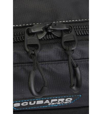 Grand sac à roulettes Scubapro Caravan Bag 2015 avec poignée téléscopique, volume de 98 litres & poids réduit de 20%