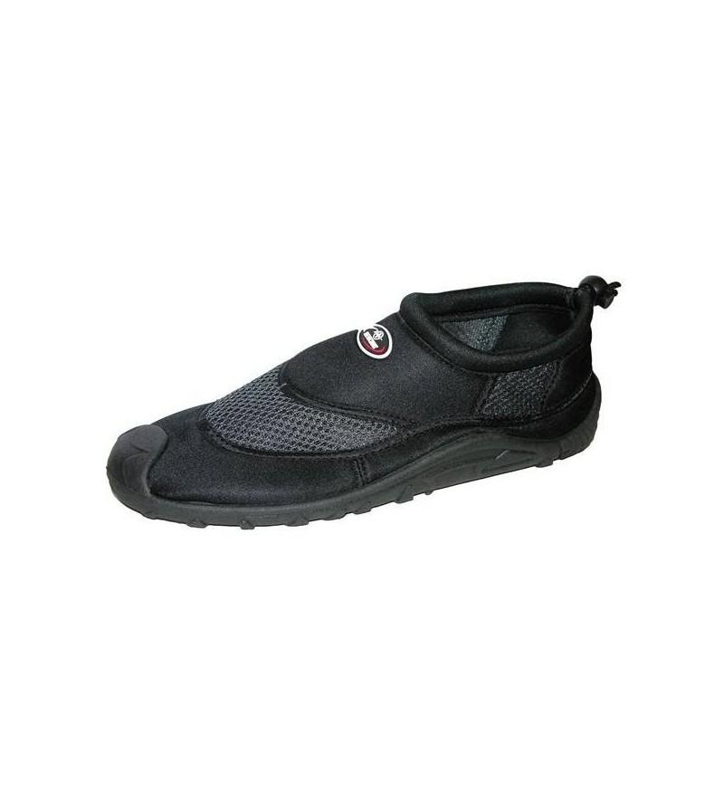 Chaussures basses en néoprène avec semelle anti-dérapante et serrage par cordon, pour la plage, les rochers, la rivière