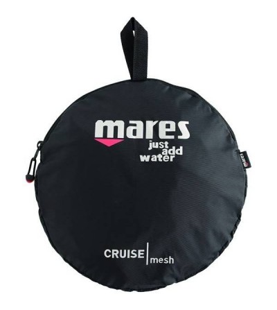 Sac filet pliable Mares Cruise Mesh, léger & pratique, pour la plongée, snorkeling, apnée et chasse sous-marine