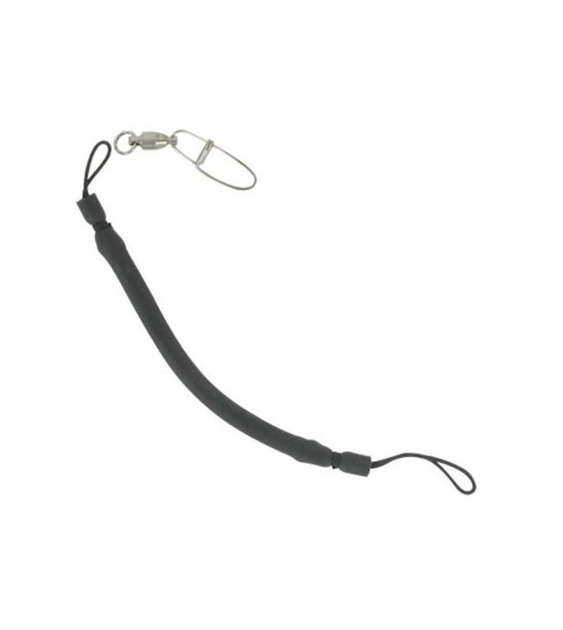 Shock absorber (bungee) Beuchat en caoutchouc noir pour ligne de fusil & arbalète de chasse sous-marine