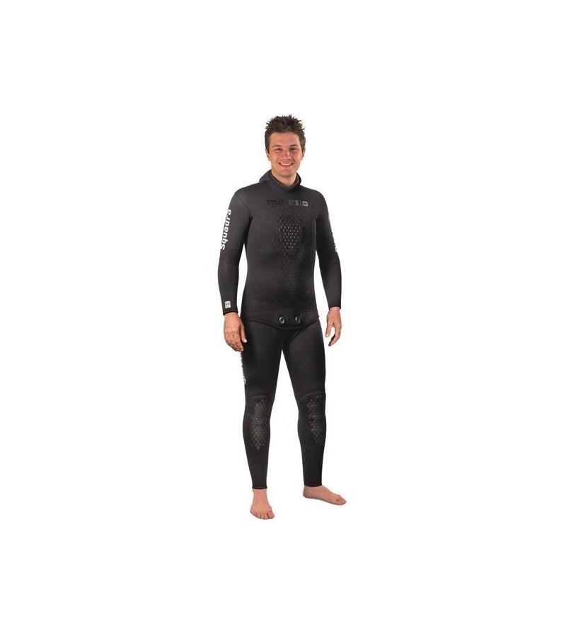 Bas Pantalon de combinaison Mares Pure Instinct Squadra 35 en néoprène refendu 3.5mm pour la chasse sous-marine et l'apnée
