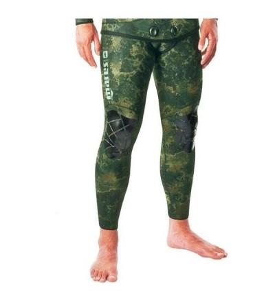 Pantalon taille haute de combinaison Instinct 55 camo vert 5.5mm Mares Pure Instinct pour la chasse sous-marine et l'apnée