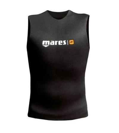 Gilet en néoprène refendu 2mm Mares Pure Instinct, protection thermique supplémentaire pour la chasse sous-marine et l'apnée