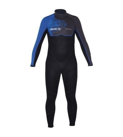 Combinaison Homme monopièce Beuchat Alizé 2016 en néoprène 3mm pour la plongée & le snorkeling en eau chaude ou tropicale