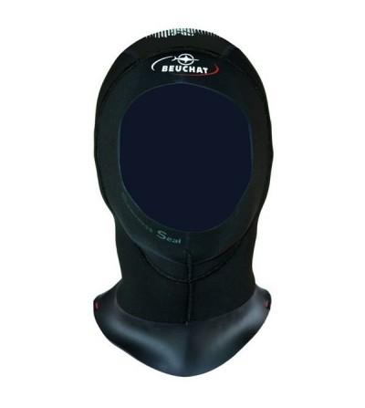 Cagoule femme en néoprène Elaskin 5mm avec purge d'air pour combinaison de plongée humide Beuchat Focea Comfort & Ultraflex