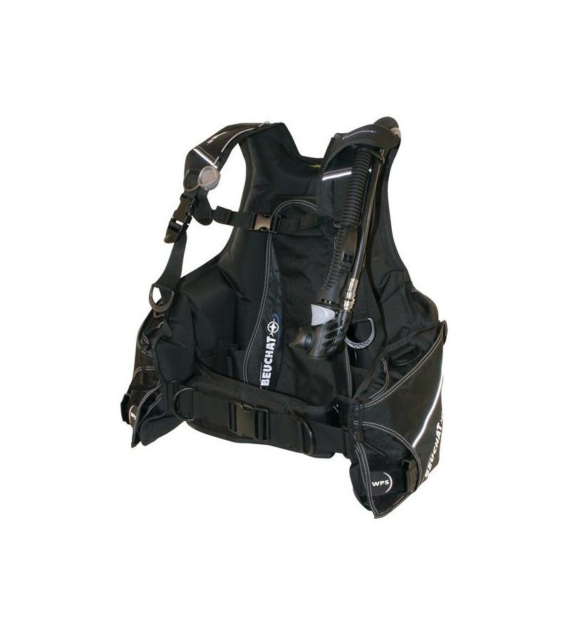 Gilet Stabilisateur réglable de plongée Beuchat Masterlift Adventure parfait pour débuter avec poches à lest largables en option