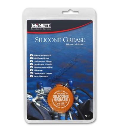 Boite de graisse silicone McNETT pour lubrifier & conditionner les joints en caoutchouc & composants de détendeurs