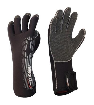 Gants en néoprène très souple Beuchat Premium épaisseur 4.5mm avec renfort kevlar pour la plongée en eau tempérée à froide