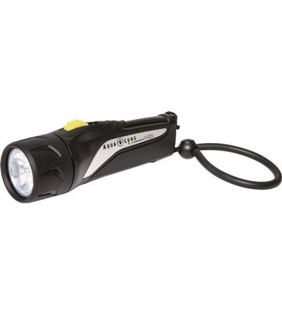 Lampe torche légère & compacte de plongée à LED Aqualung Lumen HD idéale pour les voyages ou comme éclairage de secours