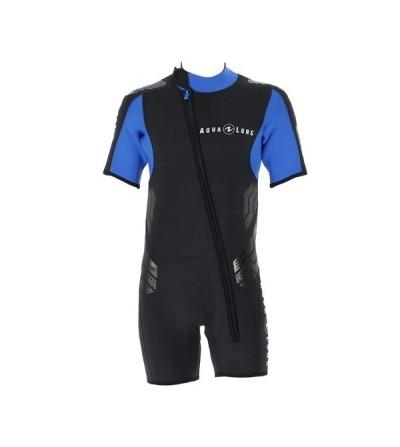 Veste Homme Aqua Lung Balance Comfort en néoprène 5.5mm sans cagoule pour compléter les combinaisons Balance et Bering Comfort