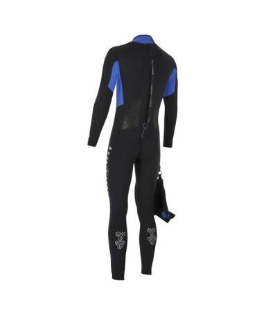 Combinaison Homme monopièce humide de plongée Aqua Lung Bali en néoprène 3mm pour la plongée & snorkeling en eau chaude