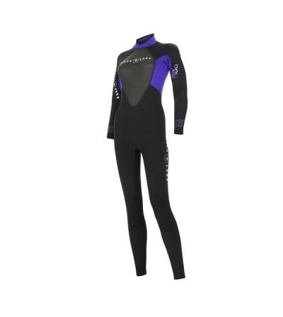 Combinaison Femme monopièce humide de plongée Aqua Lung Bali en néoprène 3mm pour la plongée & snorkeling en eau chaude