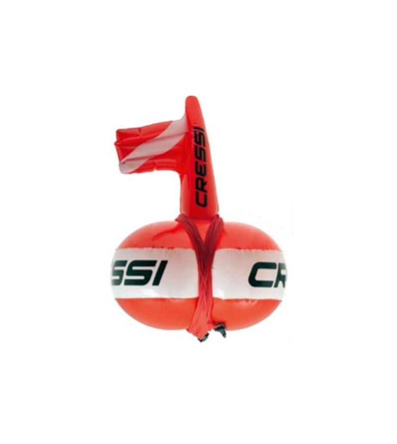 Bouée Easy Cressi de forme innovante qui sert aussi d'enrouleur de ligne pour chasse sous-marine & apnée