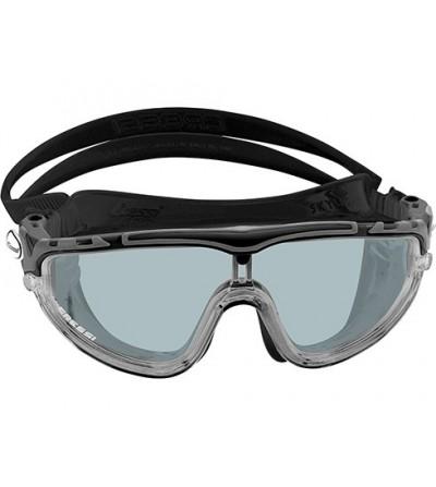 Lunettes masque de nage Cressi Skylight silicone noir avec large champ de vision & excellente étanchéité fumé