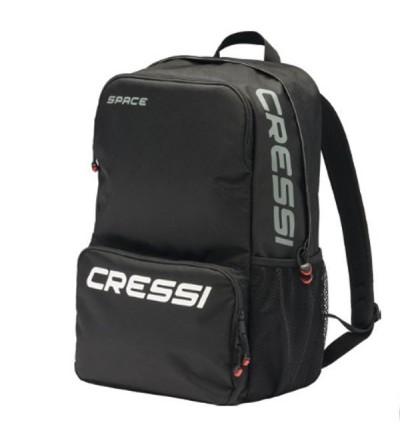 Sac à dos rembourré avec compartiment pour ordinateur portable, poches zippées et filet pour les voyages ou au quotidien