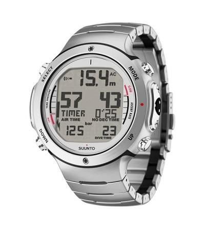Montre Ordinateur Suunto D6i steel avec bracelet acier + interface USB