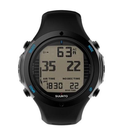 Montre Ordinateur de plongée Suunto D6i Novo Noir avec mode apnée + interface USB