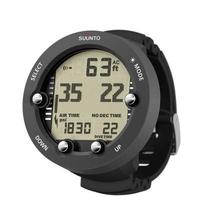 Ordinateur de plongée pour poignet Suunto Vyper Novo compatible air & Nitrox avec mode apnée - gestion d'air en option - Graphit