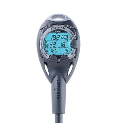 Ordinateur de plongée Sunnto Cobra monté sur console avec gestion d'air intégrée - Quick Release & interface usb en option