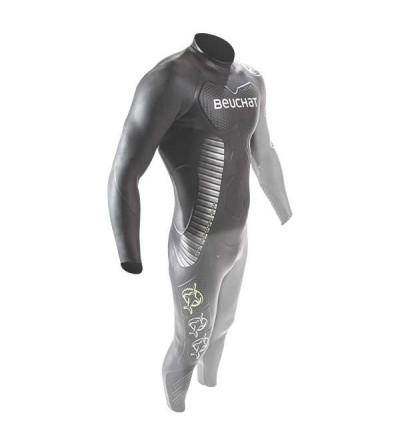 Combinaison Beuchat Crawl C800 monopièce, performance & confort pour le triathlon en compétition et entrainement intensif