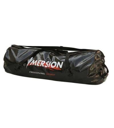 Grand sac étanche Imersion Freediving Spirit de 126 litres en tarpaulin 500D noir pour la plongée, la chasse et l'apnée