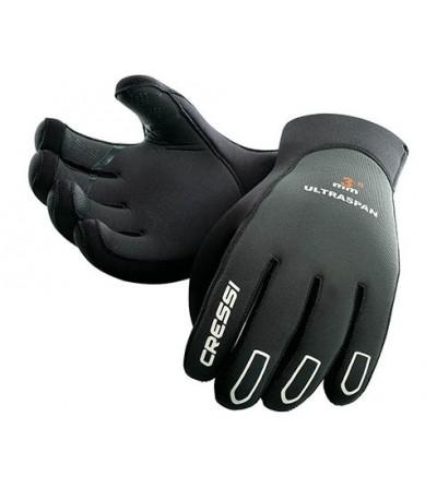 Gants préformés en néoprène très souple Cressi Ultraspan 5mm  pour la plongée