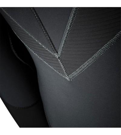 Combinaison de plongée femme monopièce humide haut de gamme Beuchat Focea Comfort 5 2017, néoprène Elaskin 7mm cagoule attenante